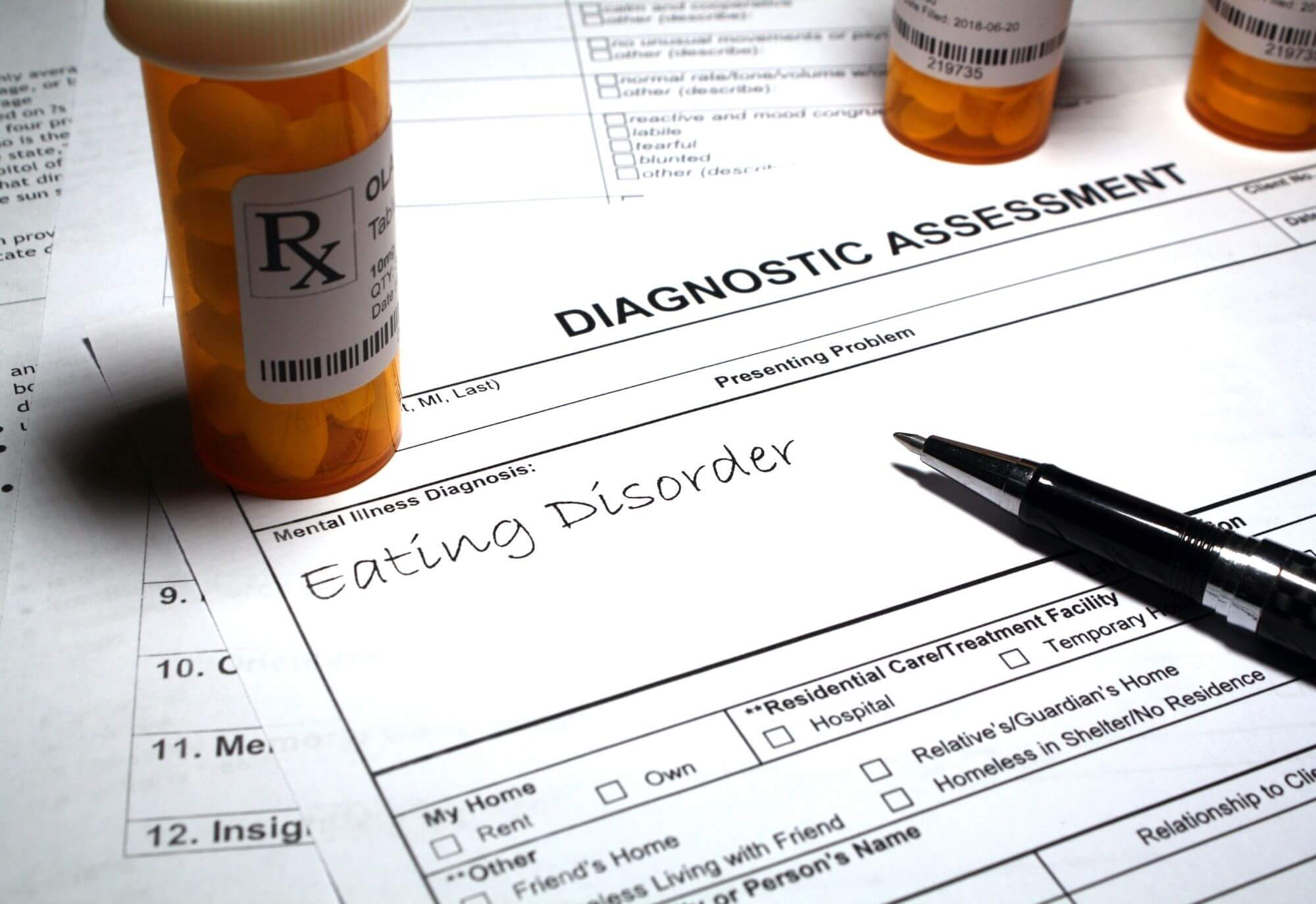 Medical treatments for eating disorders
