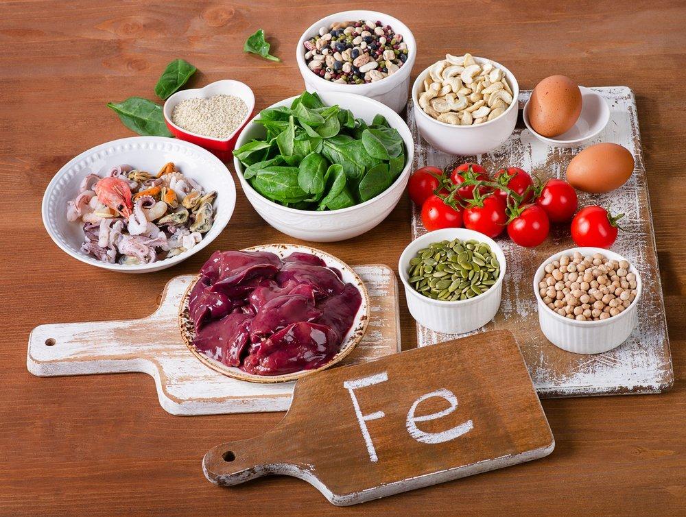 Iron-rich foods