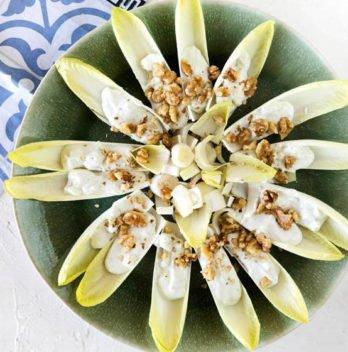 el video de un gran aperitivo endibias con queso azul y nueces 5df55cdf65c2f