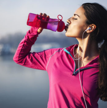 Drink more water to decrease calories intake