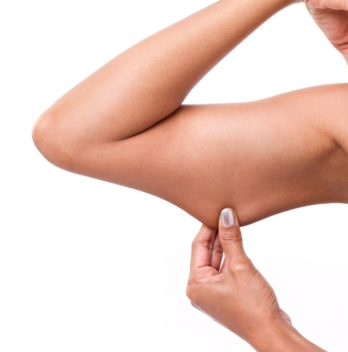 How do you get rid of arm fat