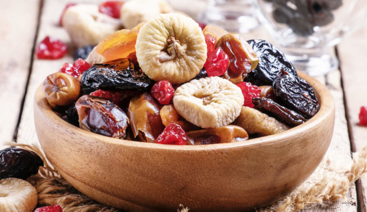 How to gain weight with dried fruits