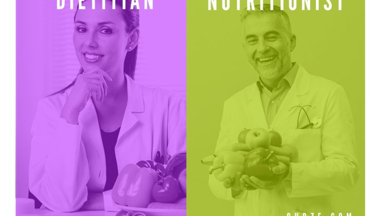 dietitian and a nutritionist