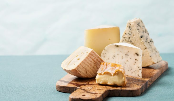 most caloric cheeses